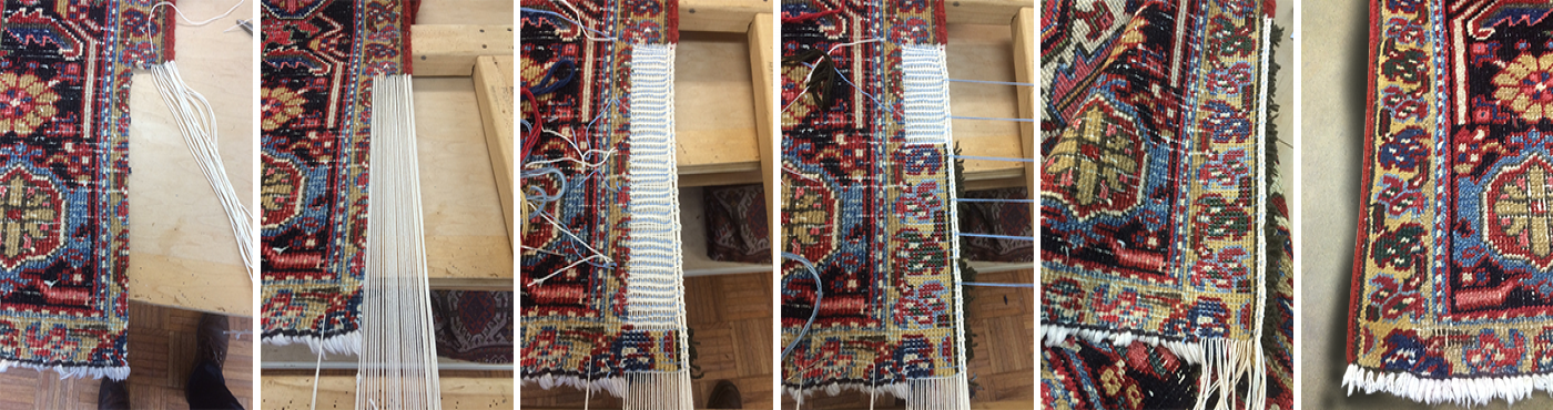Carpet Reweave Process